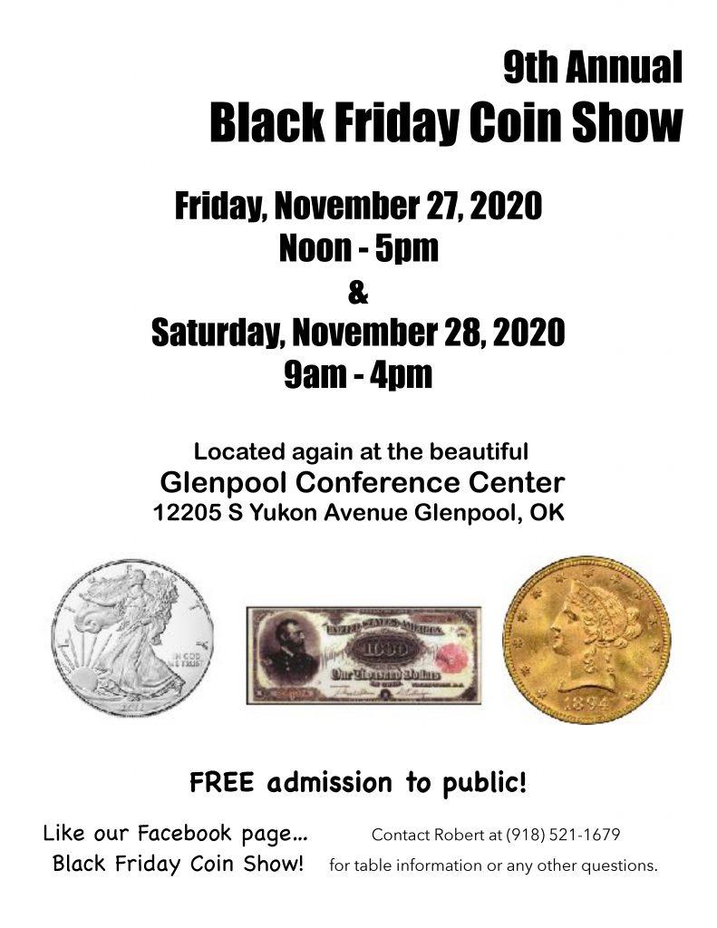 2020 Glenpool Oklahoma Coin Show